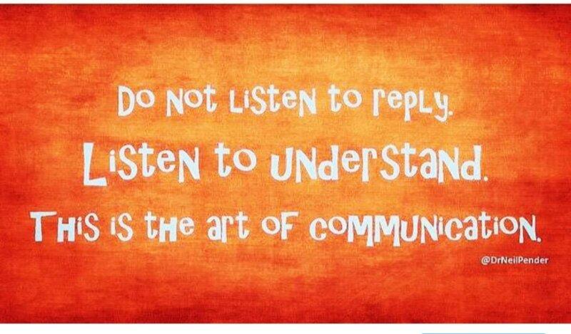 Better listening skills