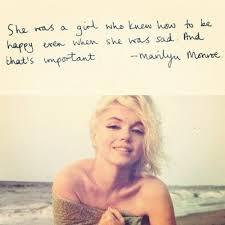 Marilyn Monroe's Saying