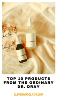 Top 10 Products from The Ordinary – Dr. Dray