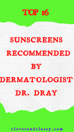 Recommended by Dermatologist Dr. Dray: 5 Skincare Essentials (Holy Grail Products)